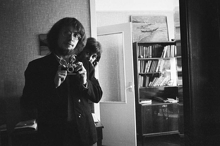 Мария Ивашинцива с любовником - фотографом Борисом Смеловым. Ленинград, 1974 год.