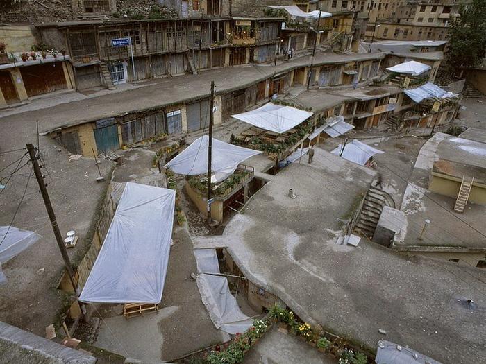 Необычная архитектура деревни Масуле (Иран)