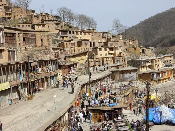 Деревня Масуле в Иране: необычная террасная архитектура