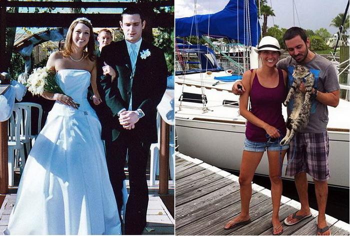 До и после: молодожены, променявшие американскую мечту на путешествия