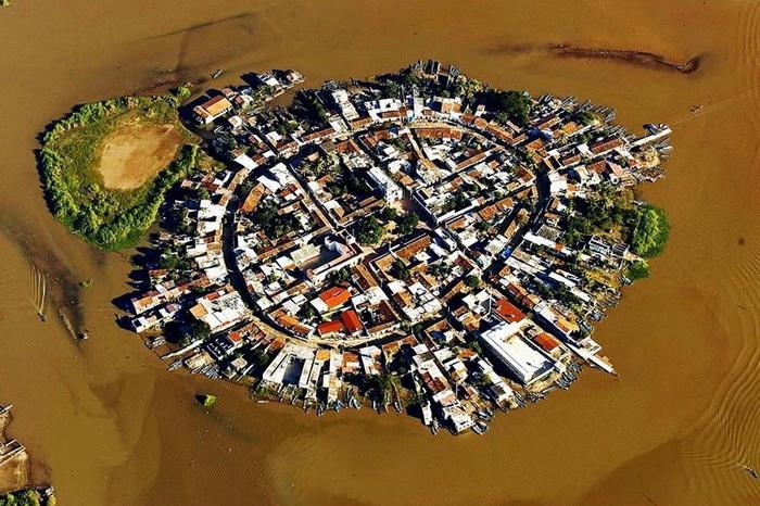 Мексиканская Венеция - поселок Мескальтитан