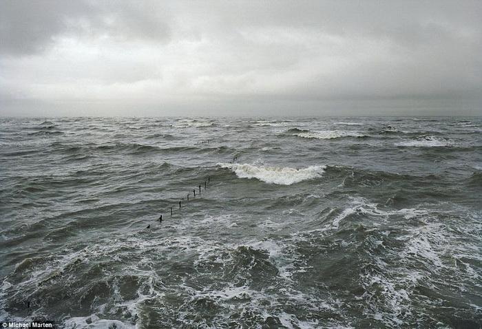 Приливы и отливы на удивительных фотографиях Майкла Мартена