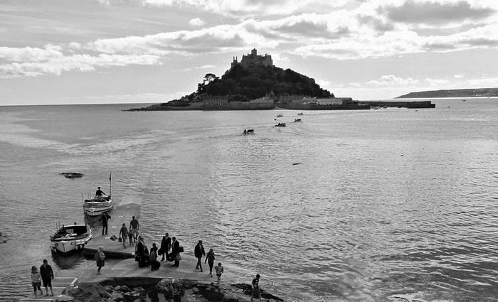 Остров Сэнт Майклз Маунт (St Michael's Mount) в Корнуолле