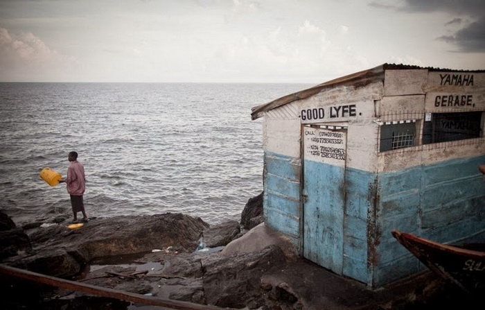 Мигинго - крохотный рыболовецкий остров в Африке