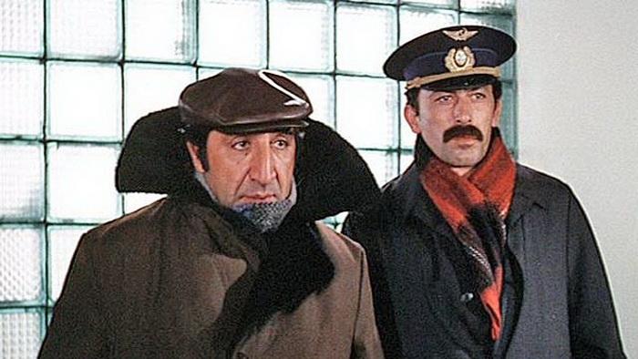 Два друга - Валико и Рубик (роли исполнили Кикабидзе и Мкртчян)