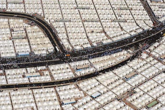Долина Мина в 8 км от Мекки (Саудовская Аравия)