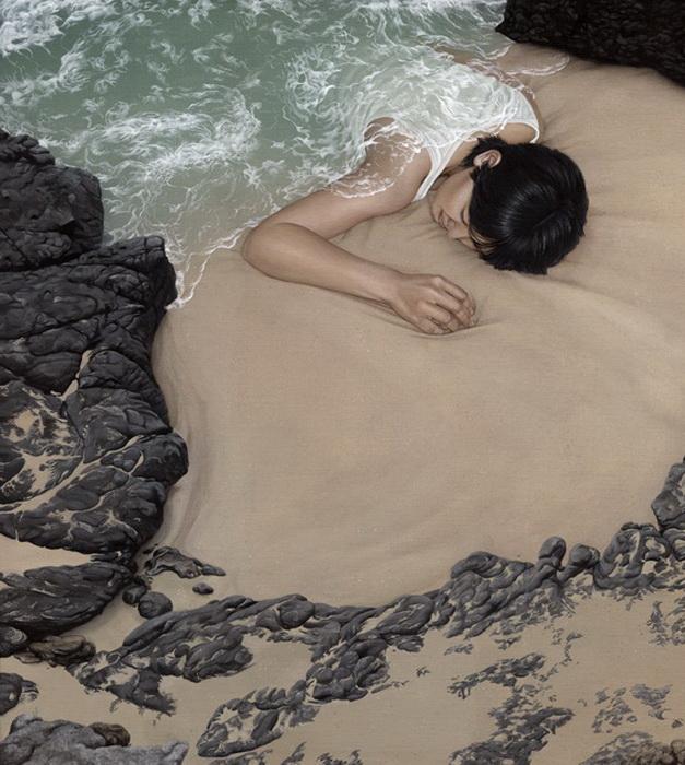 How to Disappear. Серия работ Moki Mioke