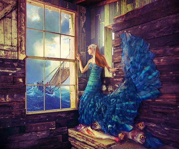 Дочь рыбака. Фэшн-фотографии от Натальи Дубиц (Natalie Dybisz)