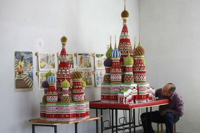 Модульное оригами Сергея <em>храма</em> Тарасова