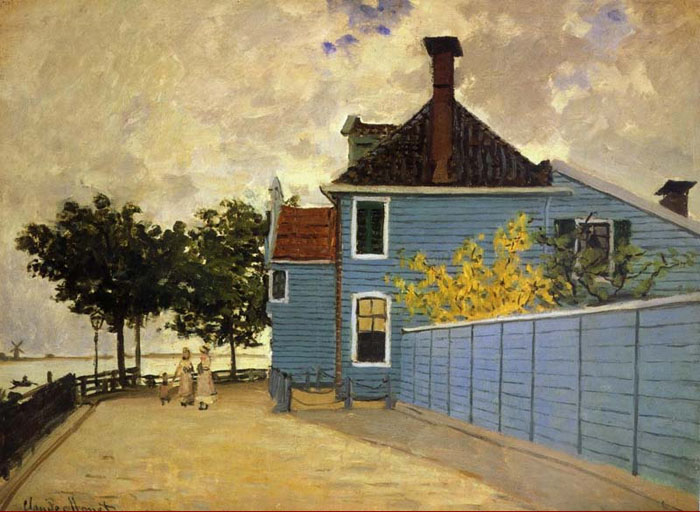 Голубой дом Клода Моне