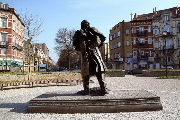 Монумент в бельгийском Брюсселе
