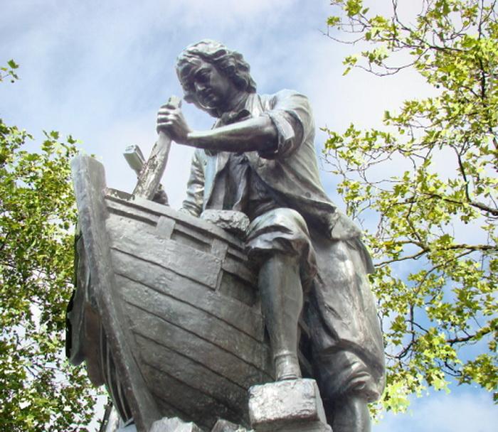 Царь – корабельный плотник: памятник российскому императору в Заандаме (Нидерланды)
