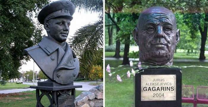 Гагарину в Уругвае и постаревший Юриус