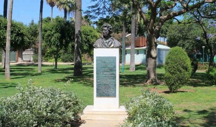 Памятник Александру Пушкину в Лимассоле (Кипр)