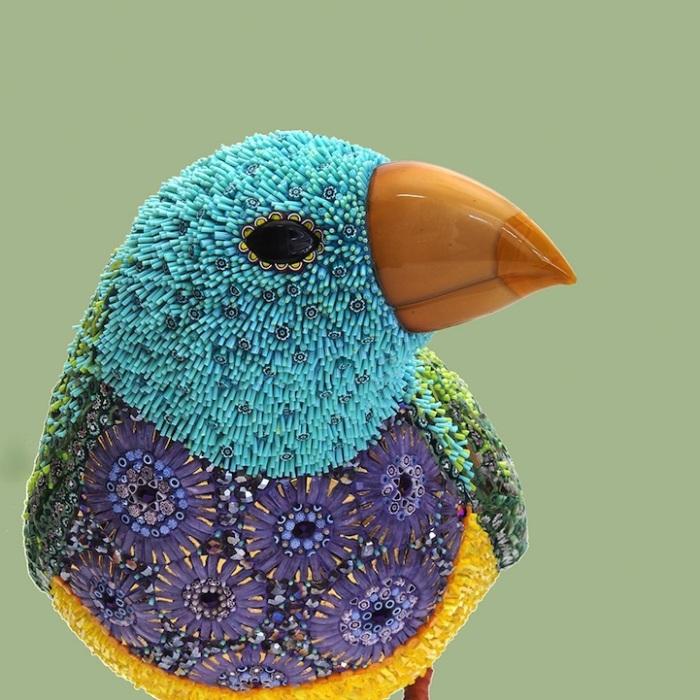 Мозаичные скульптуры птиц от Душаны Бравуры (Dusciana Bravura)