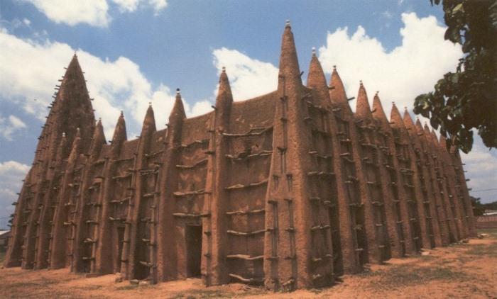 Мечеть Конг, Кот д'Ивуар.