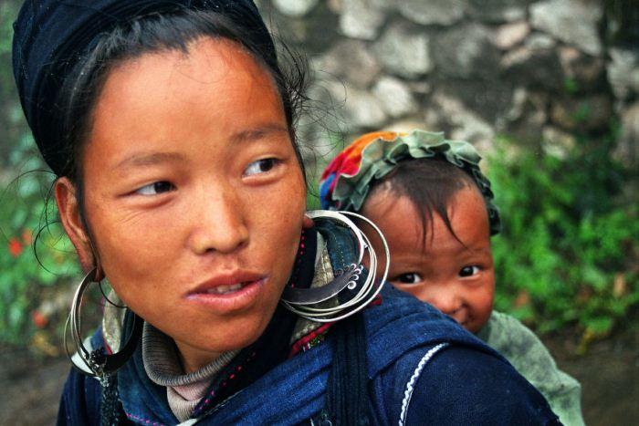 Мама из Вьетнама.