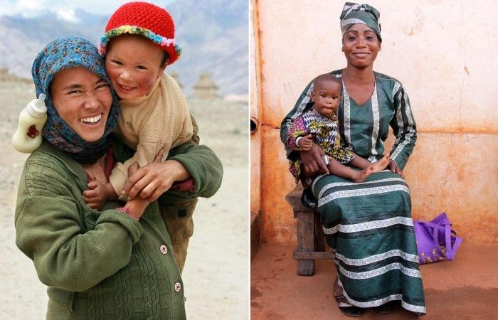 Мамы мира: фотопроект длиной в 10 лет.
