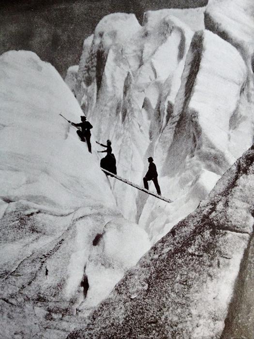 Альпинисты викторианской эпохи.