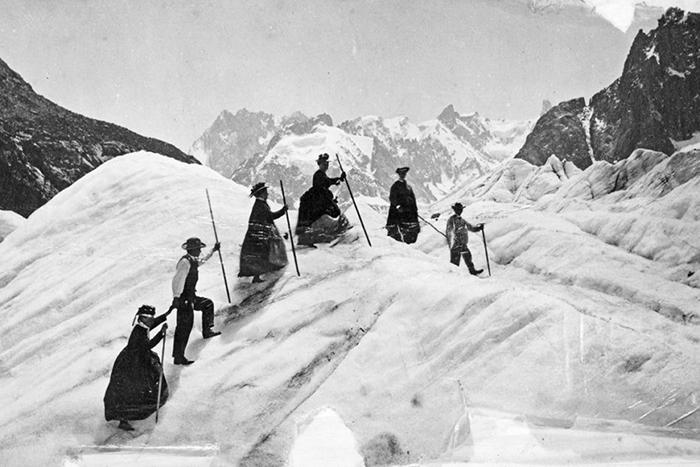 Альпинистки викторианской эпохи.