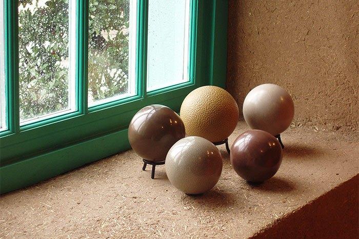 Отполированные шары дороданго.
