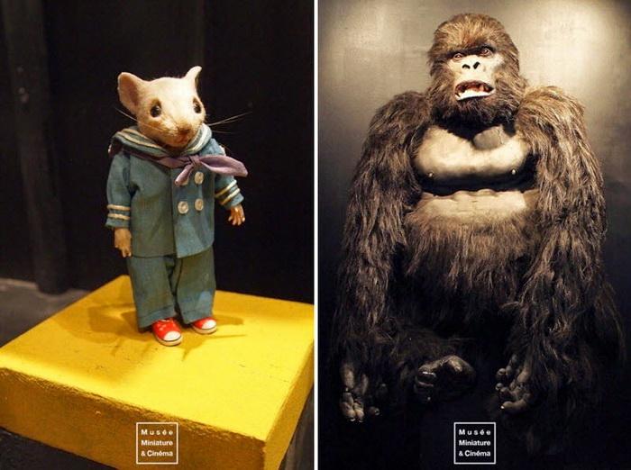 Музей миниатюр и кино в Лионе (Франция)