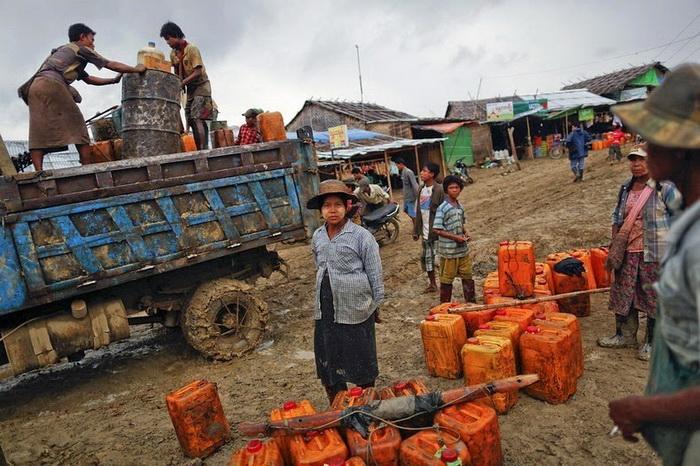 Нефтяная лихорадка в Мьянме