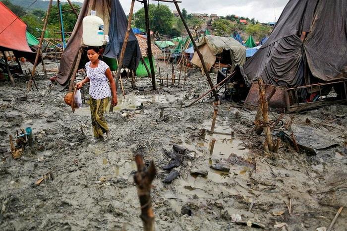 Добыча нефти в Мьянме