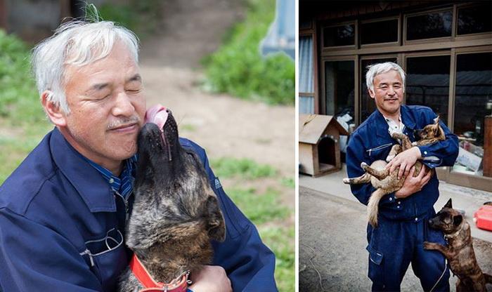 Naoto Matsumura уже 4 года ухаживает за животными в зоне отчуждения