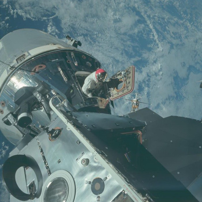 Рассекреченные архивы NASA: фотографии первой высадки на Луну