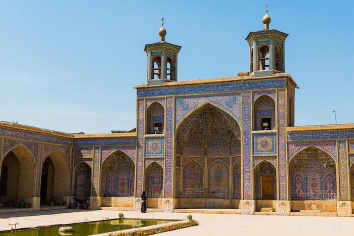 Внутренний дворик. Мечеть Насир аль-Мульк