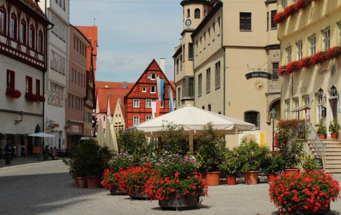Нёрдлинген - популярное туристическое место.