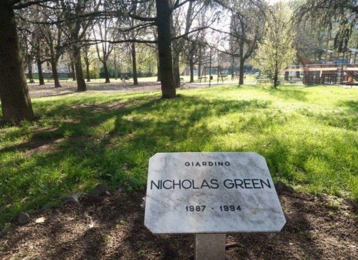 Парк в память о Николасе Грине.