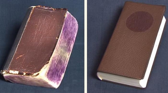 Словарь до и после: работа по реставрации книг