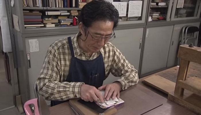 Нобуо Окано (Nobuo Okano) в процессе работы