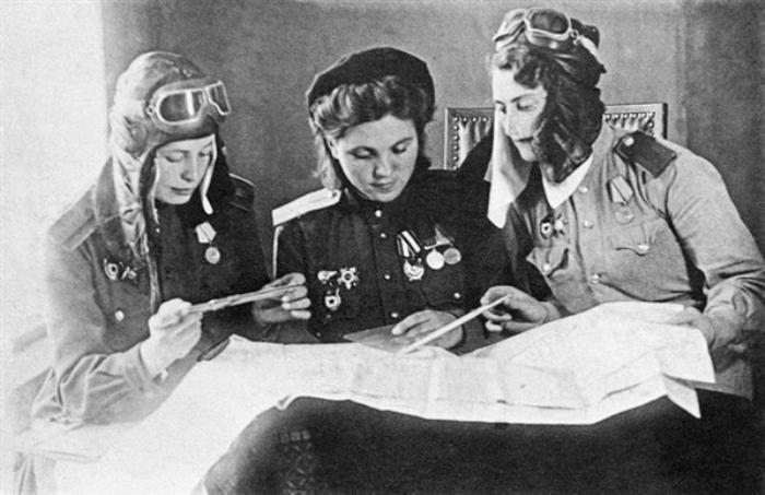 Ночные ведьмы - женский воздушный полк в Советской Армии