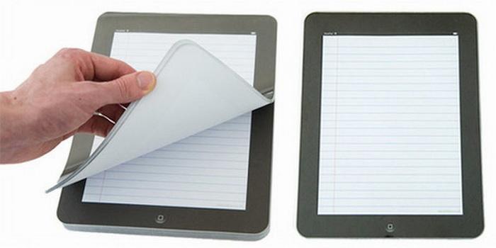 Креативные идеи для офисных сотрудников: записаня книжка в виде iPad
