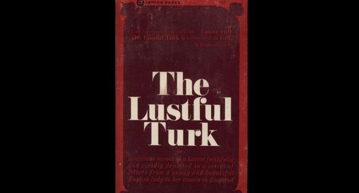 Обложка романа *The Lustful Turk*, 1828