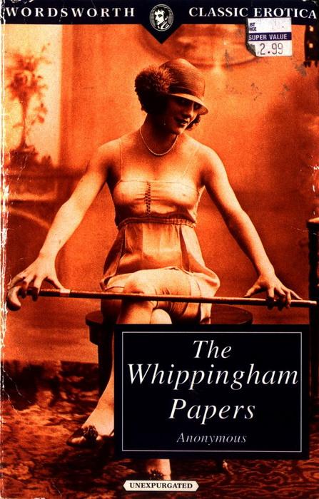 Обложка сборника *The Whippingham Papers*, 1887