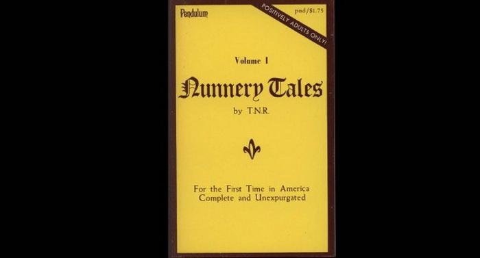 Обложка сборника *The Nunnery Tales*, 1866