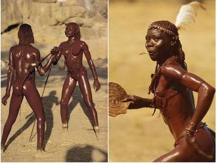 Женщины племени нуба