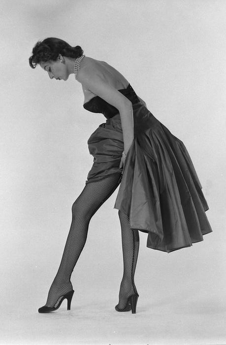 Черная сеточка от Херберта Левина, 1950 год