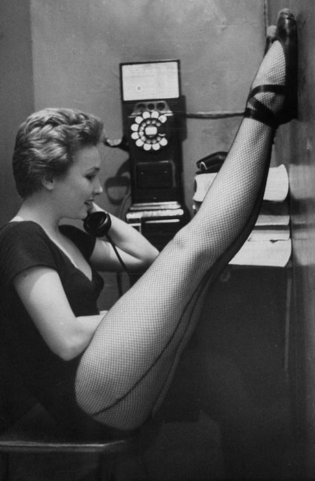 Танцовщица Мари Эллен Терри, 1952 год