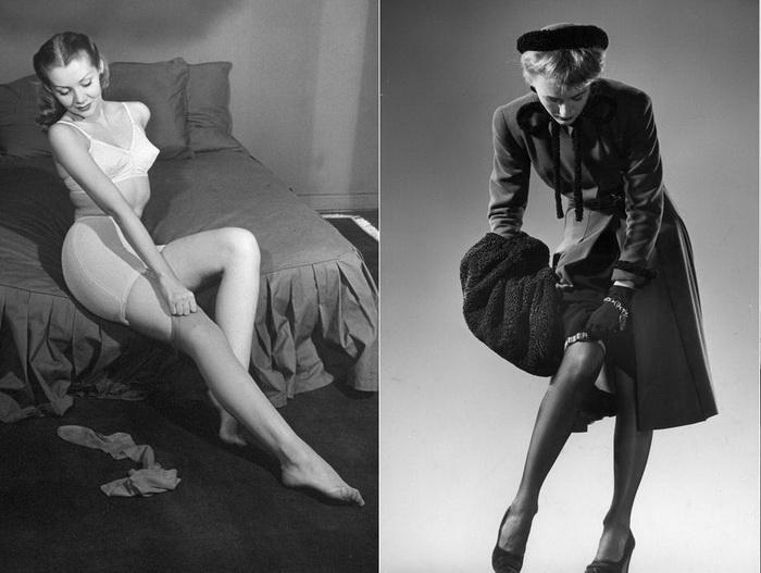Нейлоновые чулки и колготки - лучшее изобретение 20 века для женщин
