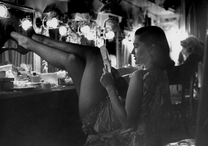 Хористка Линда Ломбард, фото 1949 года