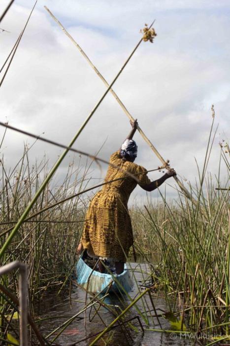 Женщина племени окаванго