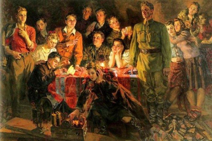 «Краснодонцы». Соколов-Скаля, 1948 г.