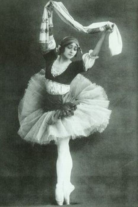 Ольга Спесивцева - прима русского балета.
