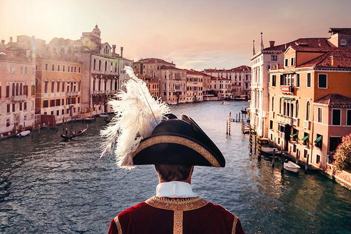 Очаровательные кадры из короткометражного фильма о Венеции
