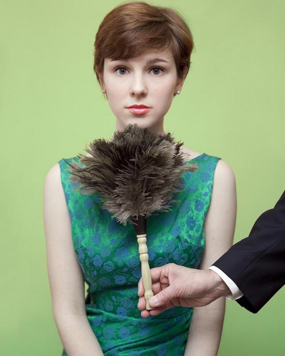 Штат Мэн. Запрещено щекотать женщин под подбородком перышком.